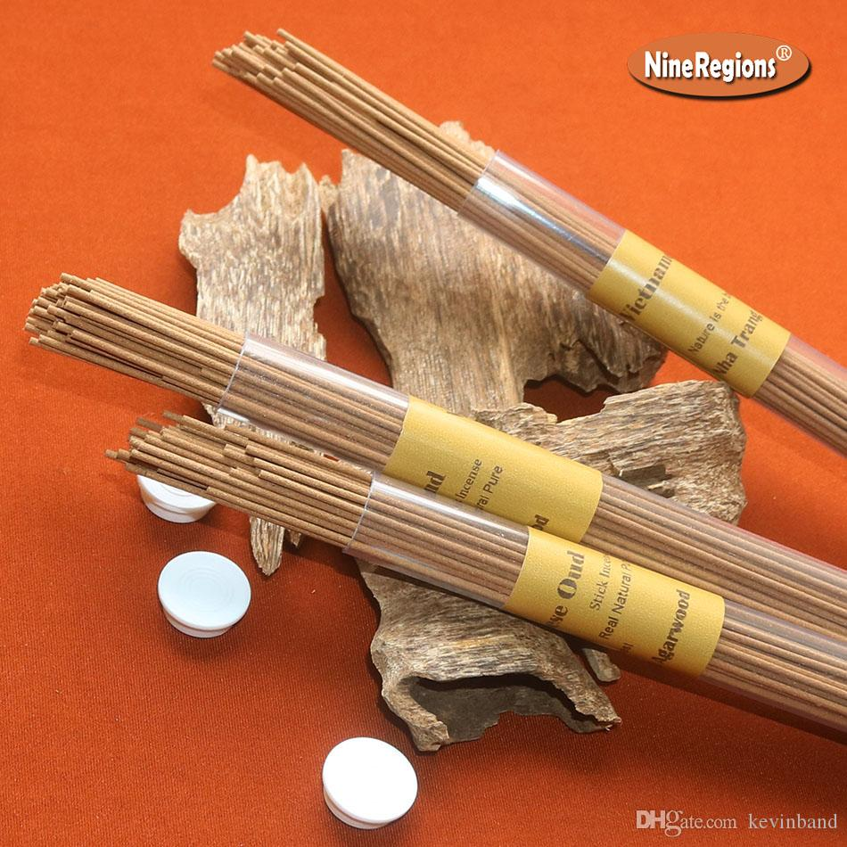 100% real natural Vietnam Nha Trang oud wood incense sticks 10g 50sticks agarwood room refresh aroma Aloeswood home fragrance Elegant smell