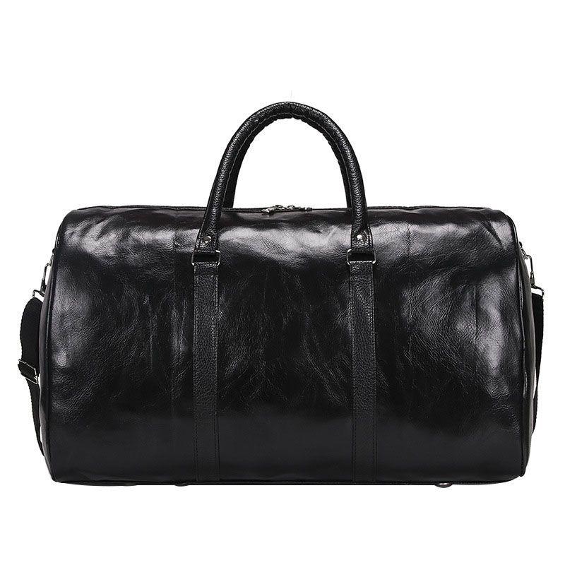 Männer reisetasche retro große kapazität qualität pu-leder männer beutel lässig wasserdicht mann und frauen reisen stoage