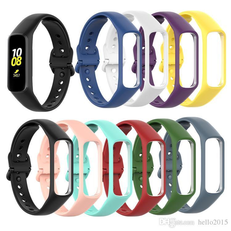 Горячая распродажа ремешок силиконовый для Samsung Galaxy Fit-e SM-R375 браслет ремешок умный браслет спортивные сменные аксессуары ремешки для часов