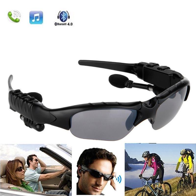 2020 Sonnenbrille Bluetooth Headset Wireless-Sport-Kopfhörer Sunglass Stereo-Freisprecheinrichtung Kopfhörer für die meisten Bluetooth-Geräte Freies DHL