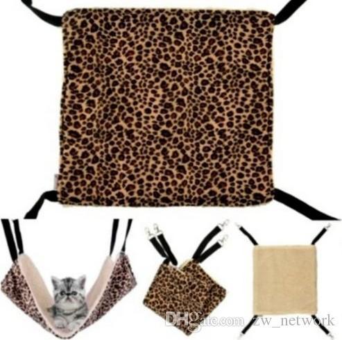 M Größe Kätzchen Hängematte Haustier Katze warme weiche Hanging Cat Hundebett Welpen-Haustier-hängendes Bett Käfig Haus 35 * 35cm