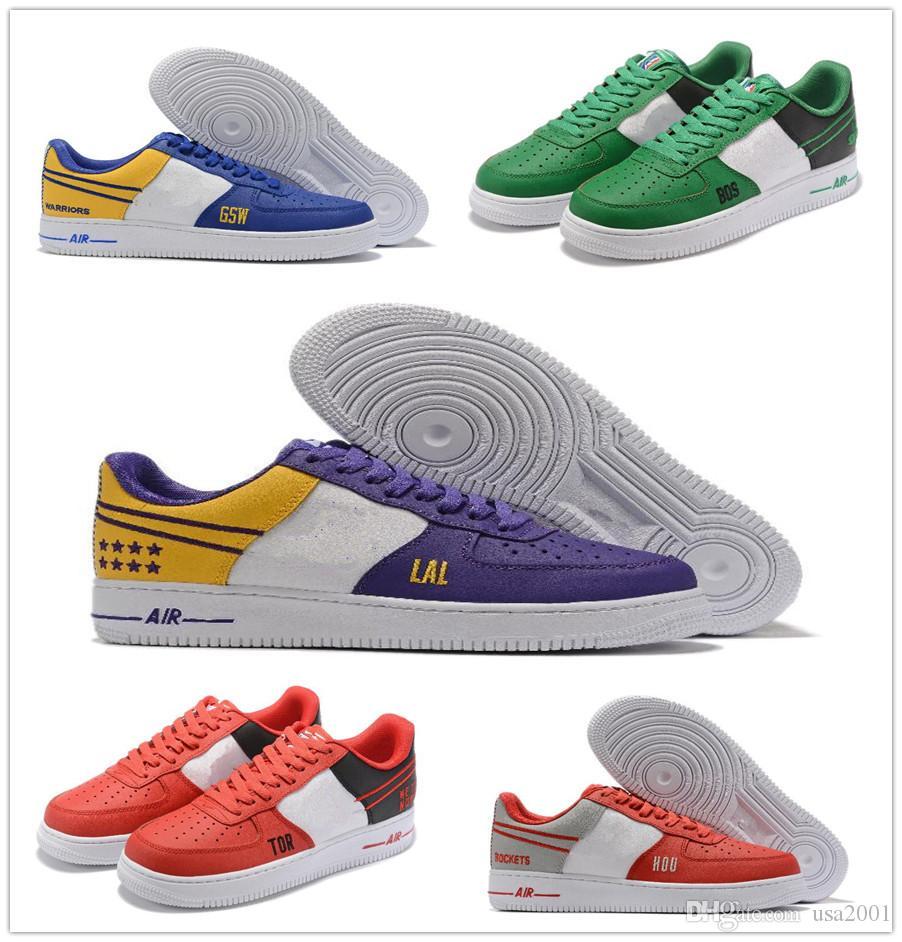 Özel teklif KUVVET AF1 DÜŞÜK tahta ayakkabı Erkek kadın 2020 Açık spor koşu ayakkabıları nbspDesigner nbspNBA Yürüyüş Ayakkabı boyutu 36-45 kapalı