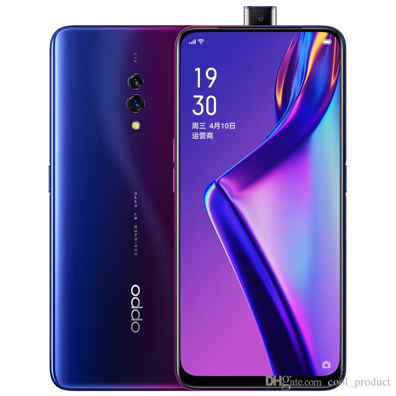 "Original Oppo K3 4G LTE Cell Phone 6GB RAM 64GB ROM Snapdragon 710 Octa Core Android 6.5"" Full Screen AMOLED 16MP Face ID Smart Mobile Phone"