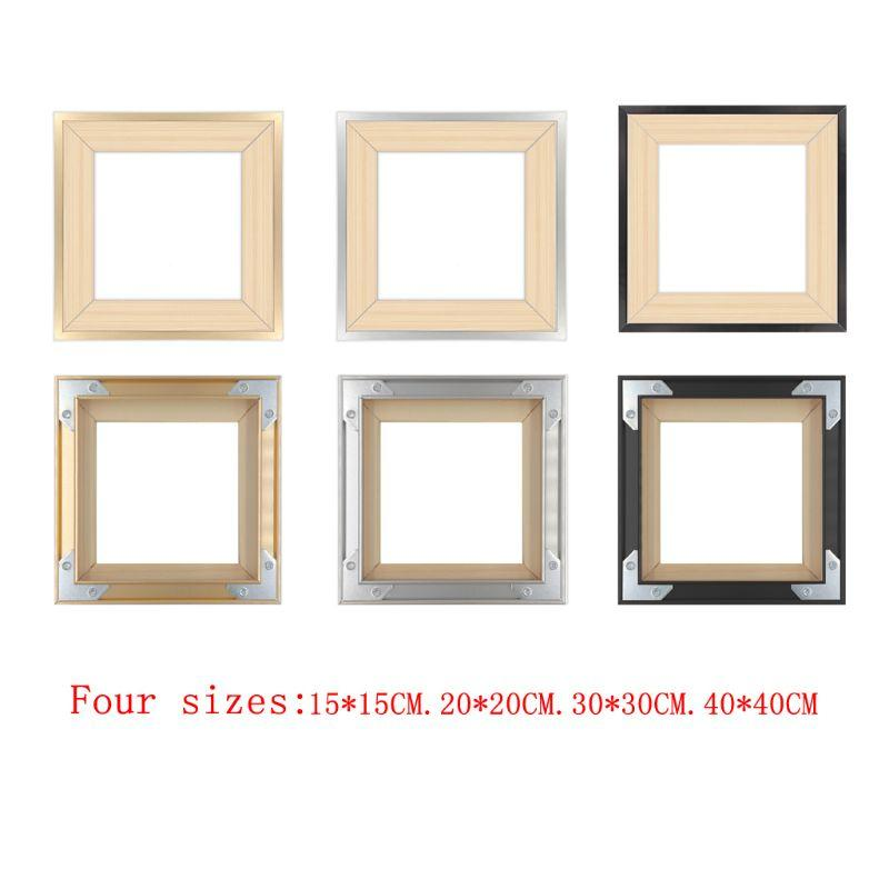 2020 Diy Wooden Square Photo Picture Frame For Oil Diamond