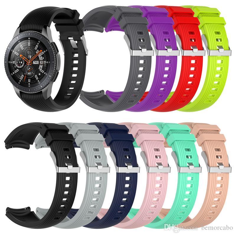 22mm Breite Armband Kompatibel mit Samsung Galaxy Watch (46mm) s3 Klassischen Mode-Armband-Frauen 22mm Armband für Amazfit GTR 47mm