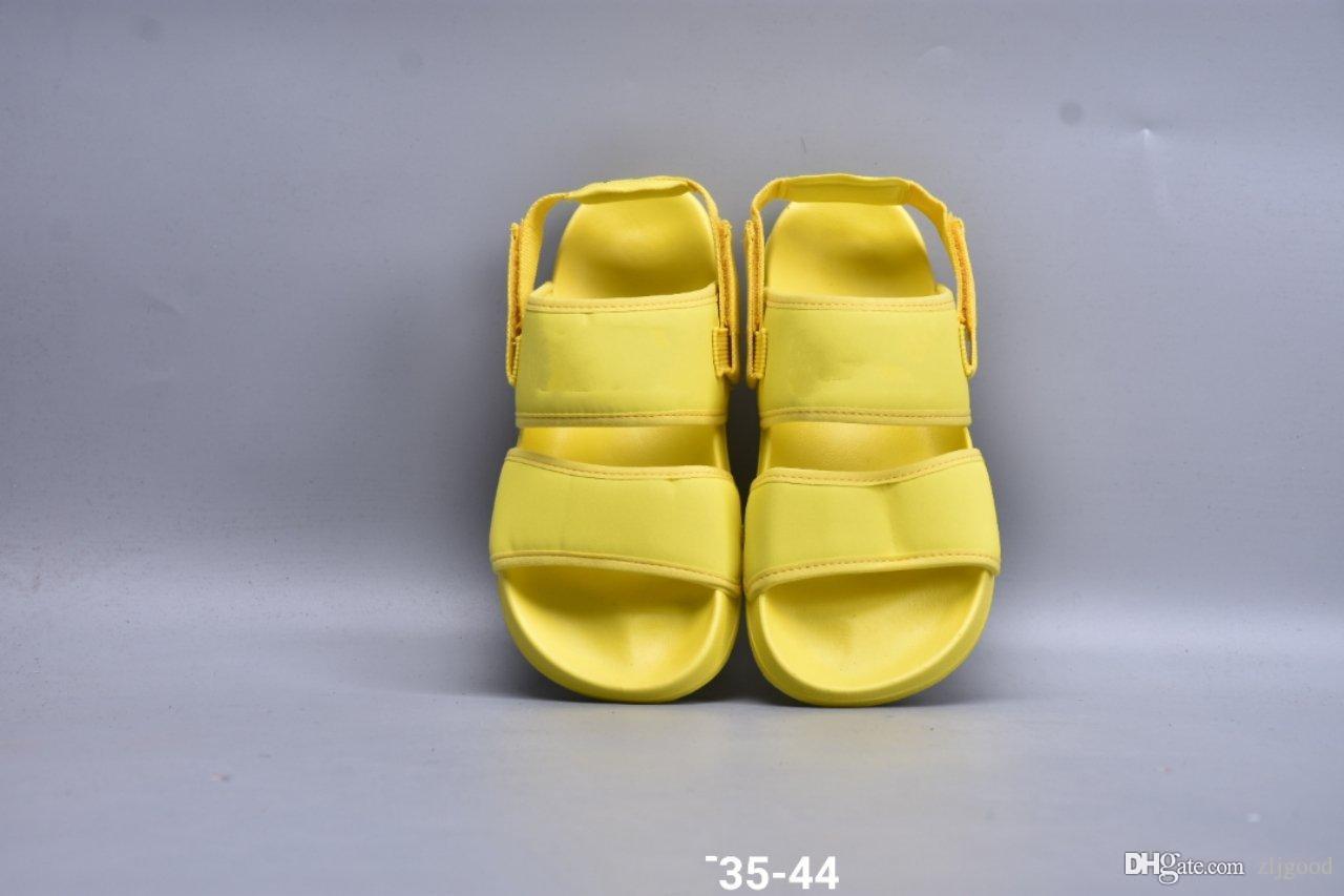 de 2020 nuevos hombres del diseñador de lujo y zapatillas de playa casual de la mujer son la moda clásica hermosa tamaño generoso suave y confortable: