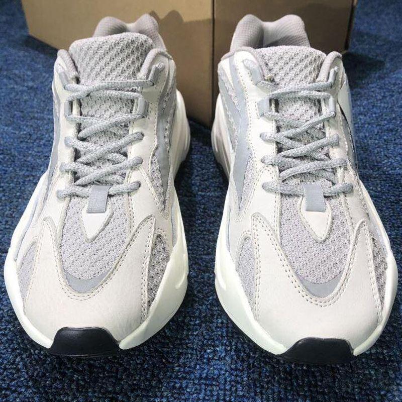 2020 New 700 Wave Runner Mauve Kanye West Wave casual Shoes Men Women Black White Blue Grey Sports Designer Athletics Sneaker