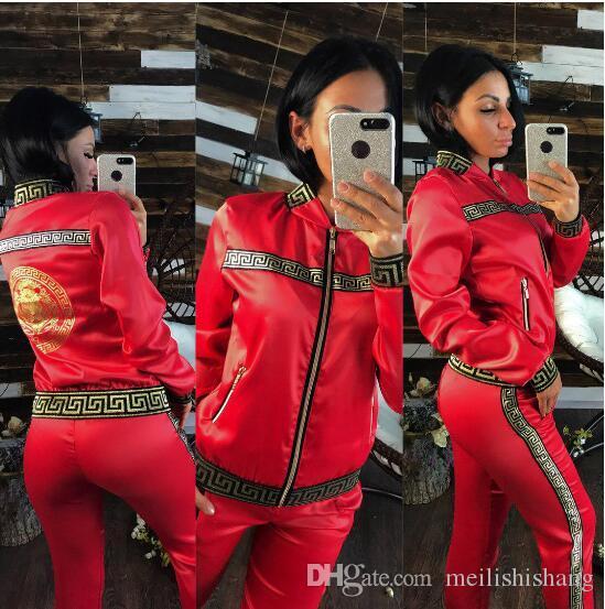2019 Women Clothes Two Piece Sets 2 piece woman set womens sweat suits Plus Size Jogging Sport Suit Soft Long Sleeve Tracksuit Sportswear