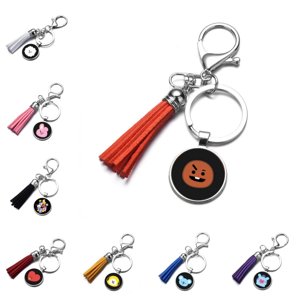 Boy and the Moon Purse Hanger with Keychain