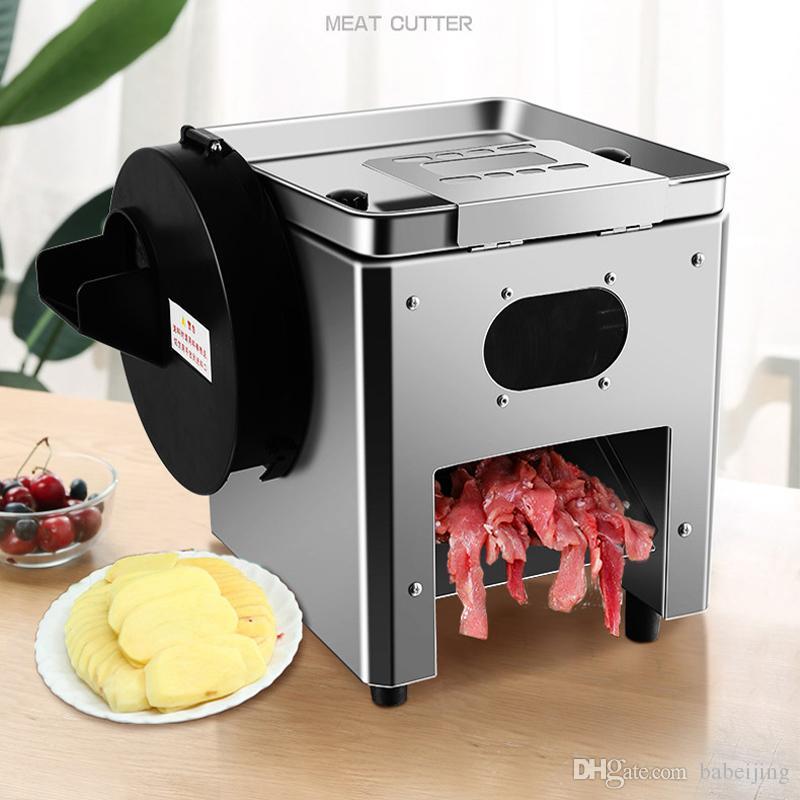 110 V 220 V Électrique légumes Machine de découpe viande machine de découpe commerciale Ménage multi-Fonction cuisine trancheuse à viande machine