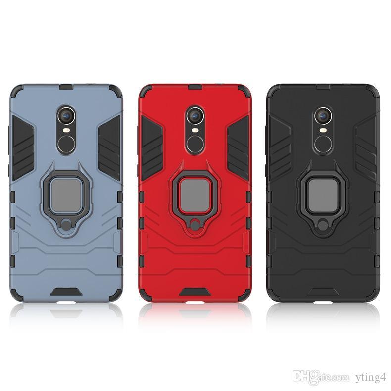 casi cellulare redmi Nota 8PRO cassa del telefono anello auto redmi 8A staffa invisibile copertura anti-caduta leopardo nero DHL libero