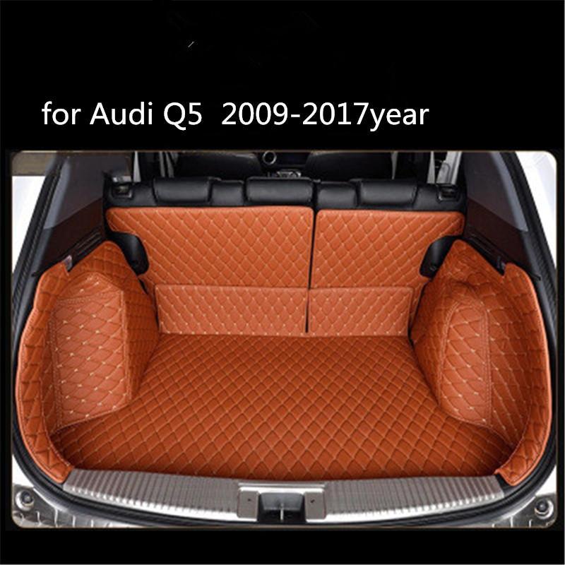 Audi Q5 2009-2017year Deri Araç Gövde Tam Surround Kat Mat Palet Halı için