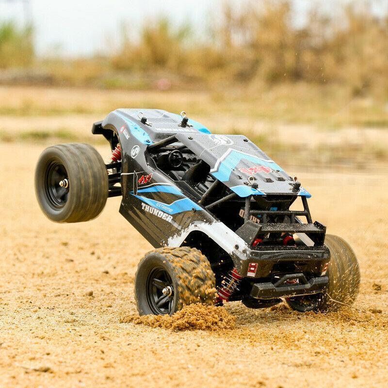 Kuulee 40 + MPH 1/18 스케일 RC 자동차 2.4G 4WD 고속 빠른 원격 제어 대형 트랙 MX200414