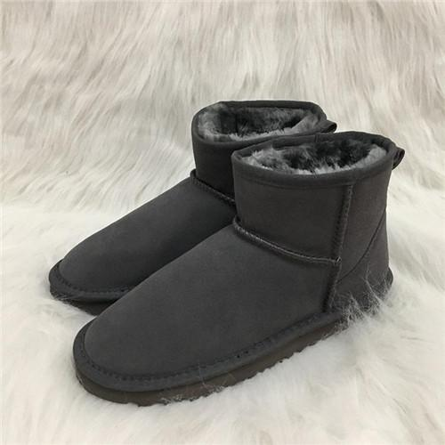 0f1a843936e Hot Sale Australian Style Mens Snow Boots Waterproof Mens Winter Cow Suede  Leather Outdoor Boots 5854 Brand IVG Designer Shoes Suede Boots Men Boots  ...