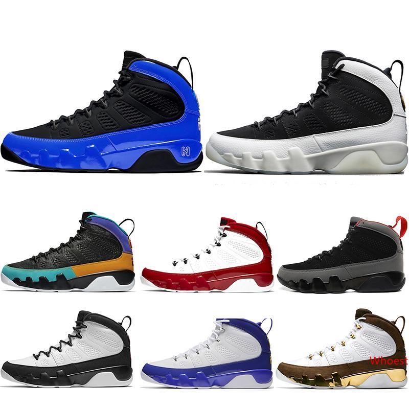 Tasarımcı 9 Racer Mavi Erkekler Basketbol Ayakkabı 9s Gym Kırmızı UNC Rüya It Do It Space Jam Erkek Spor Eğitmenler Spor ayakkabılar