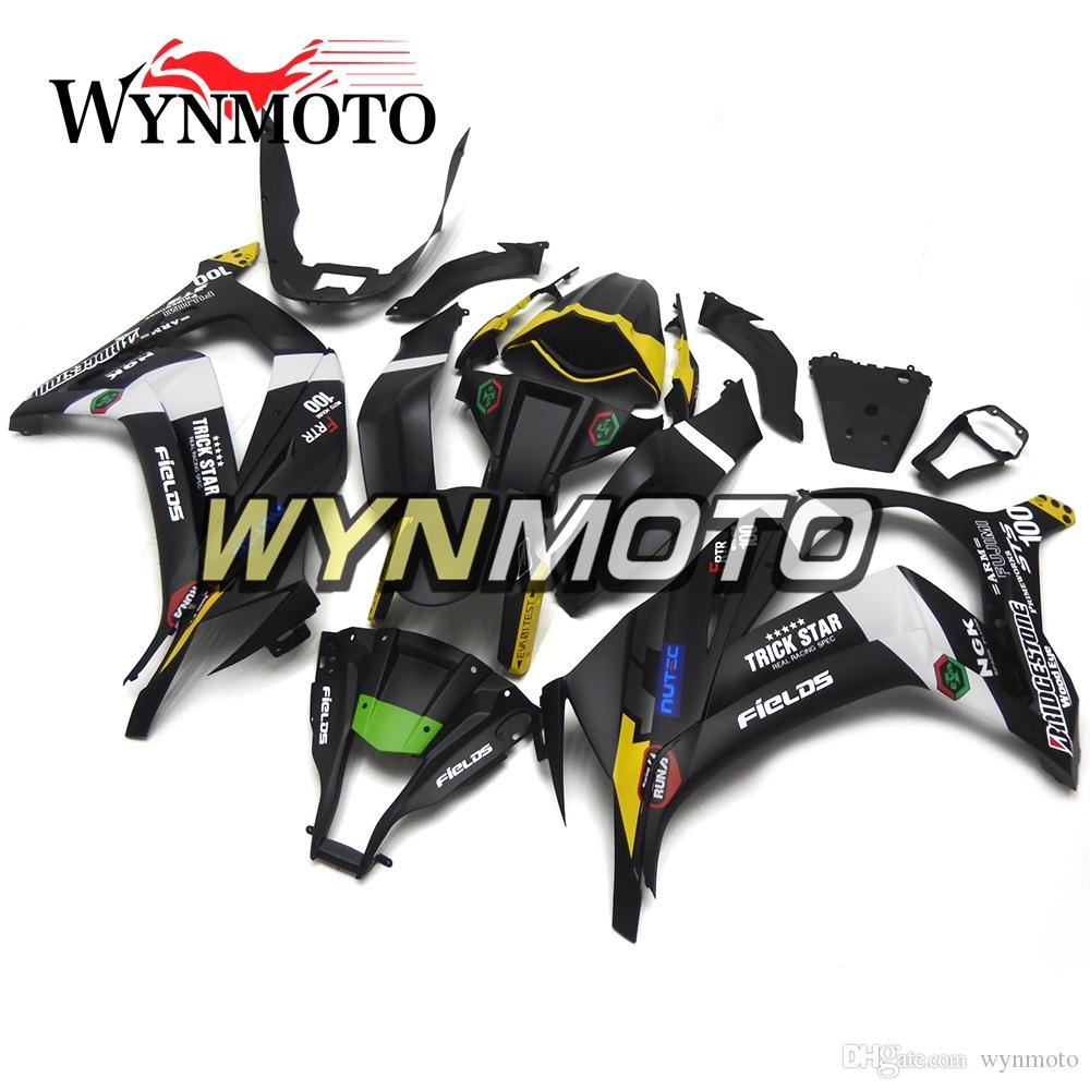 Abs Plastic Injection Full Fairings For Kawasaki Zx10r 2011 2012