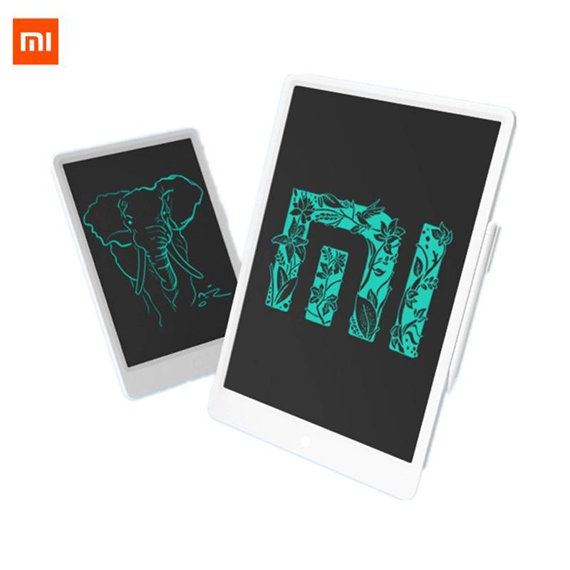 """En stock Xiaomi Mijia LCD avec tablette écritoire Pen 10 / 13,5"""" Conseil numérique Dessin électronique Handwriting Pad message Graphics"""