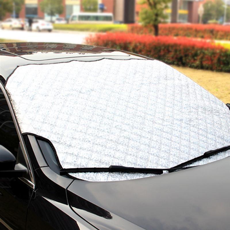 Car Windshield Cover Universal Car Windshield Rain Ice Snow Cover Sun Shade Sunshade Protection Auto Car SUV Cover
