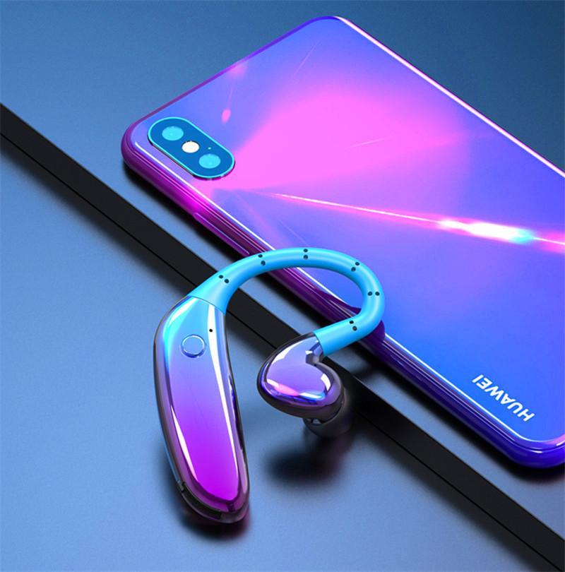 Auricular Bluetooth con micrófono auricular larga a prueba de sudor Hablando de tiempo inalámbrica de música del deporte de negocios Con Auricular Long Last TWS auricular
