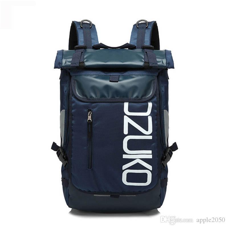 الكمبيوتر حقيبة الظهر ماء الظهر متعددة الوظائف على ظهره سعة كبيرة حقائب مدرسية الظهر حقيبة السفر في الهواء الطلق لذكر الساخنة