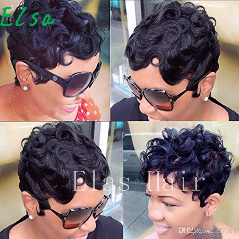 Pixie Cut Wigs Short Human Hair Wigs Human Hair Short Wigs For Women African American Wig Cheap Human Lace Front Wigs Black And White Wig From Zl7011 22 99 Dhgate Com
