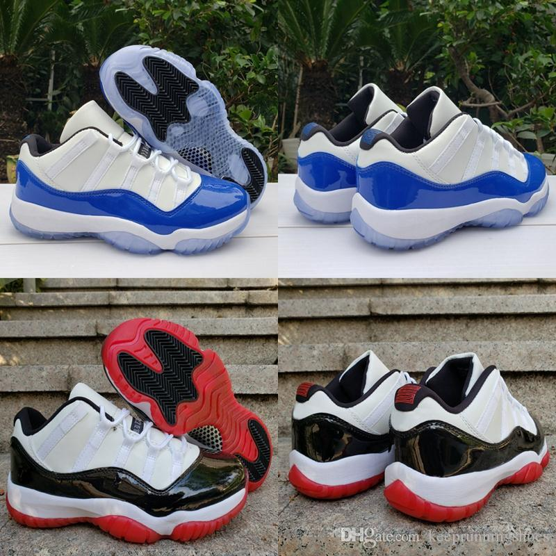 2020 New WMNS jordan retro 11 XI Bleu Royal Blanc Concord Sketch Bred bas 11s Jumpman Hommes Basketball Chaussures Femmes Baskets Baskets Zapatos
