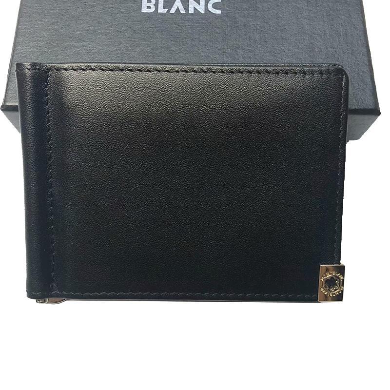 Portefeuille portefeuille de portefeuille High Cards Mens portefeuilles Nouvelle qualité authentique qualité pour avec clip cuir argent crédit 2010 Porte-monnaie pour hommes Petite Vallet Jwxa