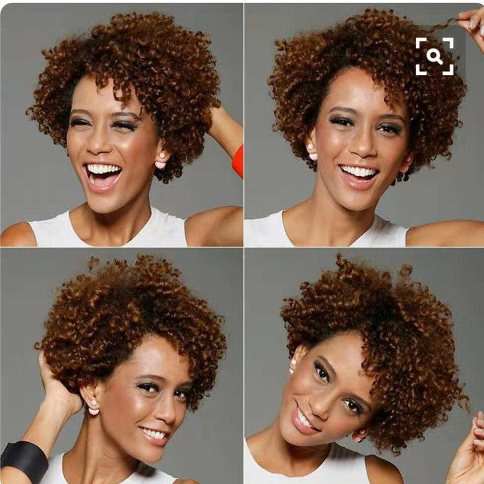 Venta caliente natural humano 150% densidad corta Afro Kinky Curl Bob encaje frente peluca para mujeres africanas pre arrancado 360 encaje frontal peluca