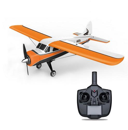 WLtoys XK DHC-2 A600 Aereo RC rtf 2.4G Brushless Motor 3D / 6G Telecomando Aereo FUTABA compatibile S-FHSS Aircraft RC Glider Y200413