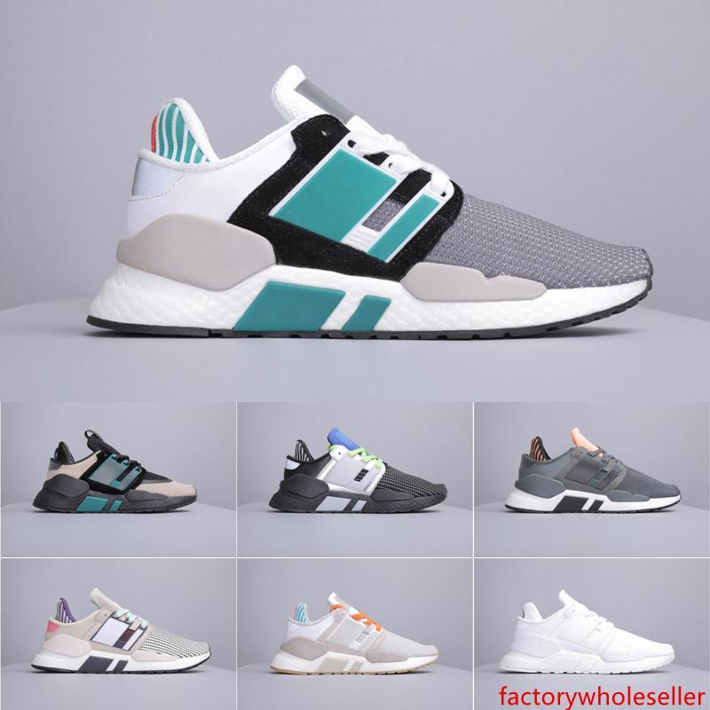 Erkek EQT destek 9118 W spor koşu ayakkabıları kadın ucuz Eqtadv Chaussures tasarımcı gelecek 93 17 Trpile siyah EQT Sneakers 36-45