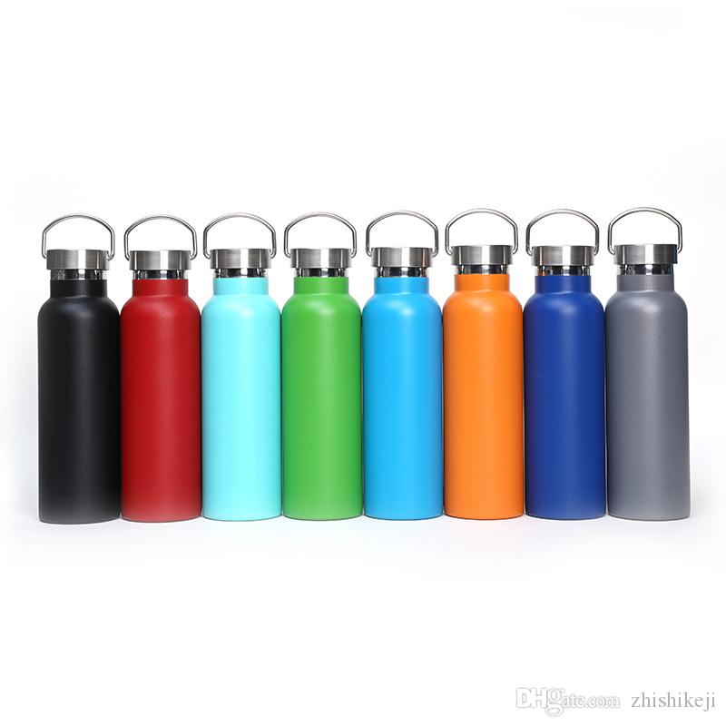 Stainless Steel 20oz Water Bottles Choose Style