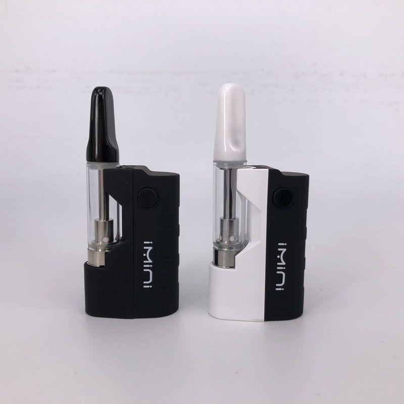 Imini TH210 vape Cartridges Kit with TH210 Cartridge 500mAh Vape pen Preheat box Mod Fit Liberty v9 v10 v14 MT6 G5 G2