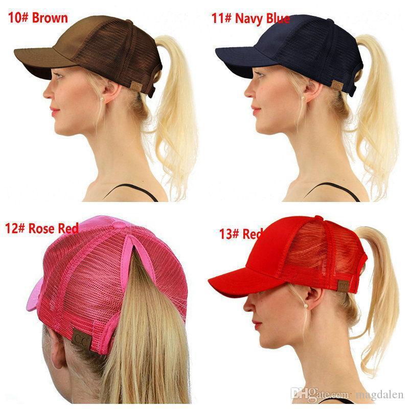 CC Glitter Ponytail Breathable Mesh Baseball Cap Men S Ladies Bag Summer  Truck Gorras Shiny Gold Shining Ladies Hat Trucker Caps Flat Bill Hats From  ... 435f9c250e3b