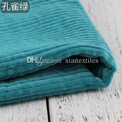 9style Cotton corduroy suiting wool pu fabric shirt coat Christmas Party printing super textiles sequin design college fabric A295