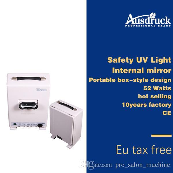 Hot Selling Facial Skin Scope Portable Analyzer BoxType Skin Diagnos System Skönhetsmaskin Personlig eller Salong Använd F102