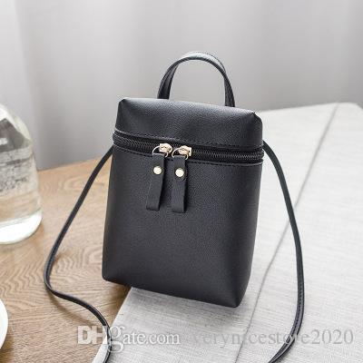 Hot Selling Small Bags Korea Fresh New Female Mini Leisure Small Square Handbag Lading Shoulder Cross Arm Mobile Phone Bag
