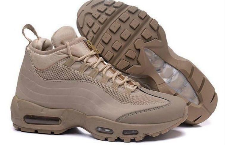 2020 Nouveau Hommes Formation Sneakers, 95 25e anniversaire mi Basket-ball chaussures, armée Bottes Hommes Automne Hiver Cheville, scellé-zip Chaussures 19