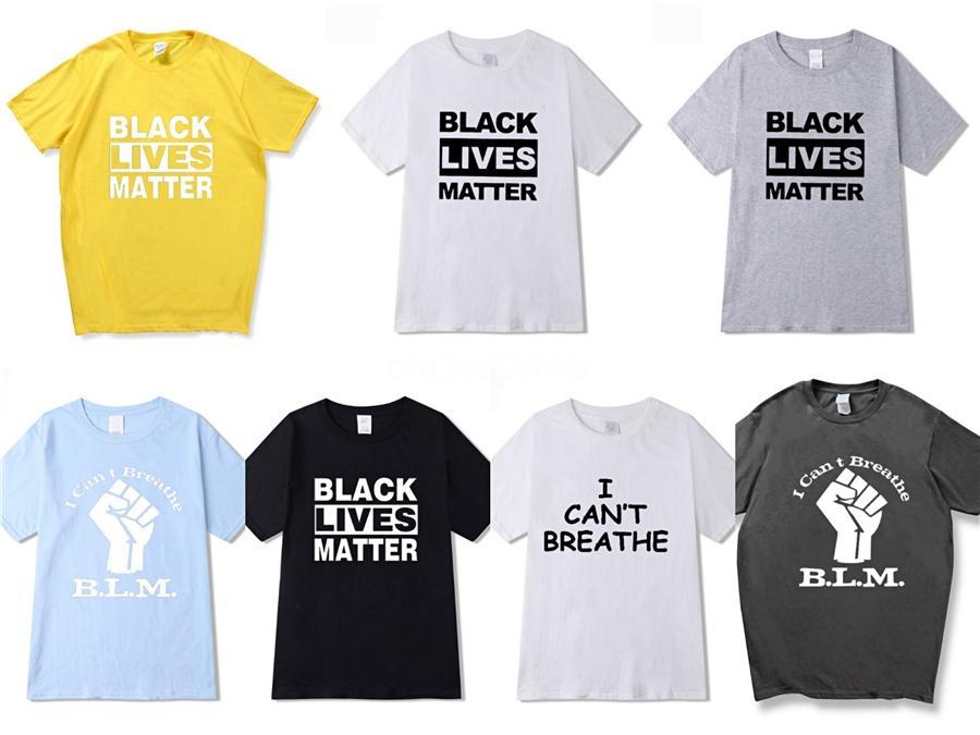 I Cant Breathe! Fashion Designer T-shirts Hommes Travis Scott T-shirts d'été Designer Lettres Astroworld Imprimer T-shirt manches courtes Tops Clo # 87