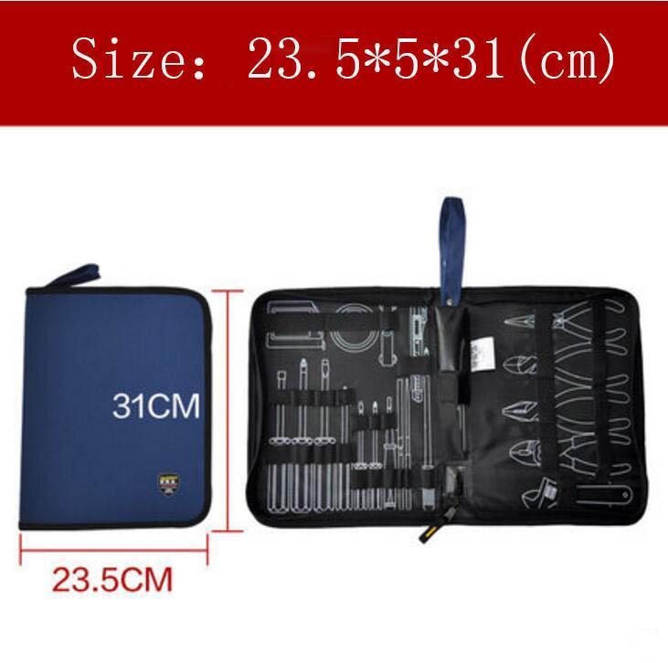 All'ingrosso-Borsa grande strumento di dimensioni Elettricisti strumento sacchetto duro professionale kit Piastra Set Kit Bag Free Shipping