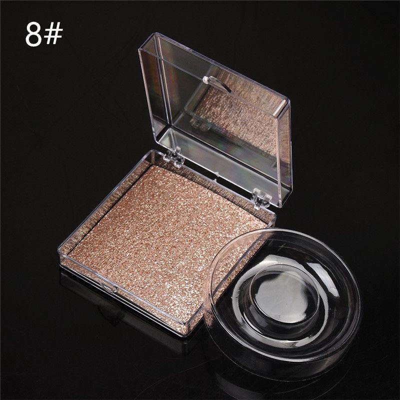 Square eyelash packaging False Eyelash Packaging Box 3D Lash Box Transparent Plastic Clear Eyelash Box with Tray