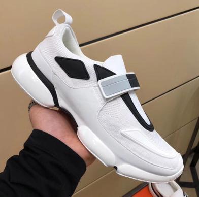 De calidad superior! Cloudbust zapatos casuales 18SS diseñador zapatillas de deporte zapato casual hombres mujeres cuero genuino moda pasta zapatos n2