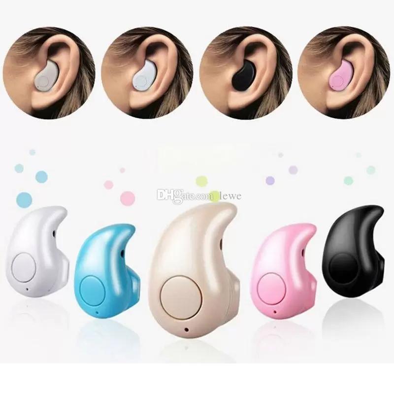 Mini Invisible Wireless Bluetooth Headphone S530 In-Ear V4.0 Earphone Headset Handfree For iPhone X 6 6s Samsung Smart Phone retail box