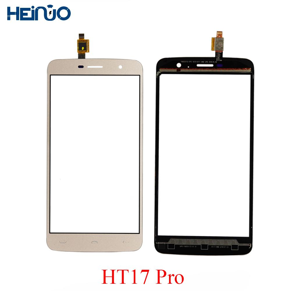 5.5'' HT17 Touchscreen TP For Homtom HT17 pro Touch Screen Panel Digitizer Lens Sensor Replacement+Repair Tools+3M Tape Adhesive