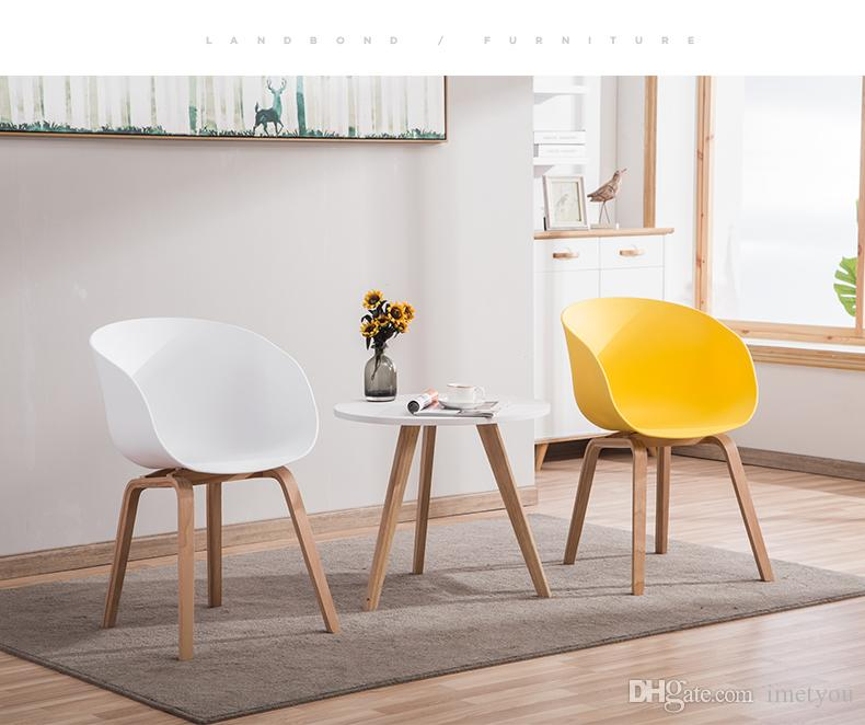 Phenomenal 2019 Hot Modern Simple Personality Fashion Assembling Coffee Chair Dining Chair Leisure Wood Plastic Chair Bar Stool Living Room Frunture From Dailytribune Chair Design For Home Dailytribuneorg