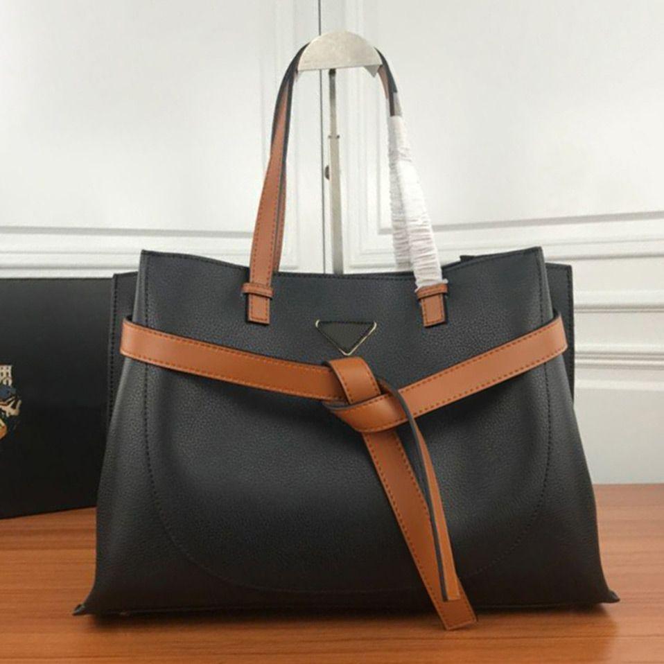 Best Selling Luxury Classic Women Vintage Handbag Bag Leather Shoulder Straps Handbag Designer Handbag Messenger Crossbody Bags 40X28X16cm