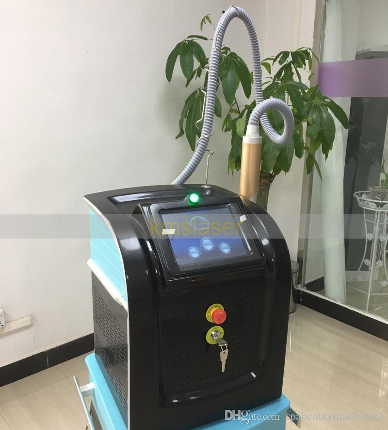 آلة إزالة الوشم بالليزر بيكوسيكوند Q Switch Laser Treatment Picosure Machine 1064nm 532nm 755nm 1320nm صبغات إزالة حب الشباب تجديد الجلد