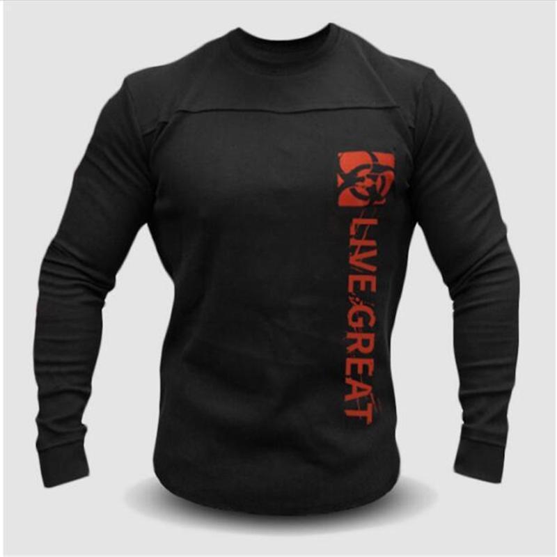 Alta qualidade de carta O-pescoço dos homens stylist Moda camisola imprimir manga longa camisola ocasional outdoor camisolas M-3XL