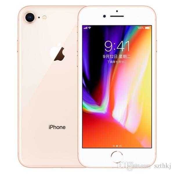 مقفلة الأصل تجديد ابل اي فون 8 / فون 8 زائد مع / بدون (ID اللمس) بصمة 64GB / 256GB IOS رباعية النواة 12.0MP