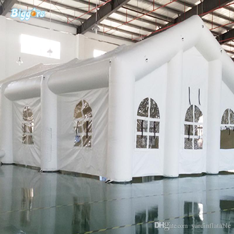 Alta qualità Large Size commerciale Wedding Tenda gonfiabile del partito di evento con il ventilatore potente libero