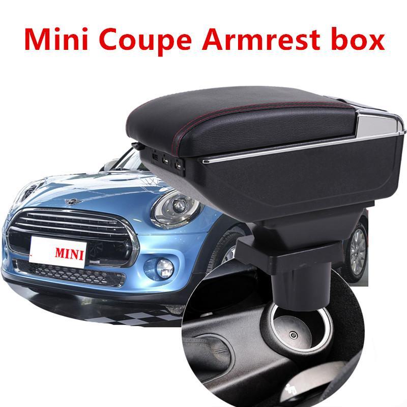 Pour MINI COOPER COUPE Accoudoirs Bo/îte Consoles main avec porte gobelets et cendrier